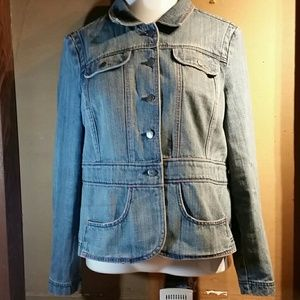 Woman's Cato Jean jacket size xl